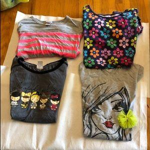 Other - 4 child shirts 12-14 XL.